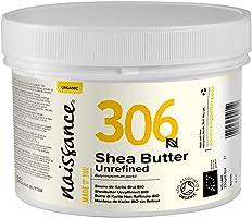 Naissance Sheabutter BIO 250g - rein und natürlich, unraffiniert, BIO zertifiziert, handgeknetet, vegan & parfümfrei -...
