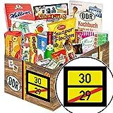 Ortsschild 30 - Geschenkidee 30 Mann - Süßigkeiten Paket XXL