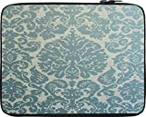 Snoogg Motif Print Blue15 inch to 15.5 i...