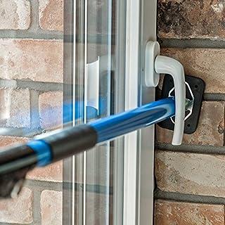 ALLEGRA Sicherungsstange Fenstersicherung Türsicherung Einbruchschutz Fensteralarm (65-115cm)