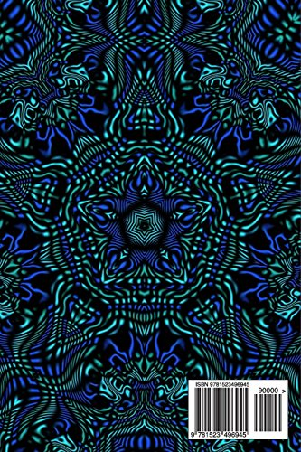 Kaleidoscope Image 2: Blank 150 page lined journal for your thoughts, ideas, and inspiration
