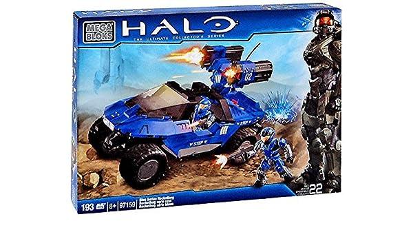 Set97159 itGiochi RockethogAmazon Halo Series Mega Bloks Blue DIWH2E9
