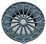 Rejilla de ventilación de estilo rústico de aluminio, DIN ø150, de rejilla, rejilla LMA