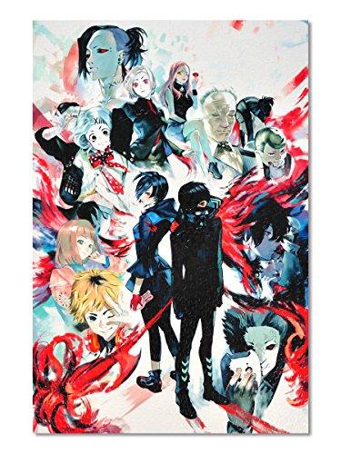 CoolChange Tokyo Ghoul Puzzle, 1000 Teile, Motiv: Ken Kaneki's Welt
