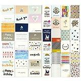 48toutes les occasions Cartes de vœux-Joyeux anniversaire assortis, Thank You, mariage, vierge Designs, enveloppes inclus-10,2x 15,2cm...
