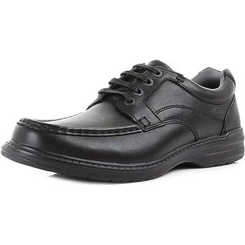 670eb5e86546 Clarks Star Stride Lace-Ups Mens Black Schwarz (Black Leather) 8 UK ...
