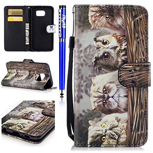 EUWLY Case Cover per Samsung Galaxy S7,Ultra Slim...