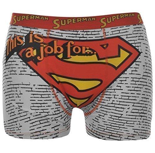 Herren Lizenz Boxershorts Batman Superman Rocky Balboa Superman Man of Steels