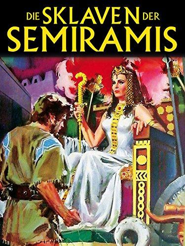 Die Sklaven der Semiramis - Kostüm Sandale