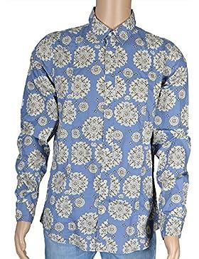 Guess - Camisa formal - para hombre azul azul