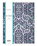 Nicole Miller pour Bleu ciel 2019Planning mensuel, Coque souple, 21,6x 27,9cm, Bramble