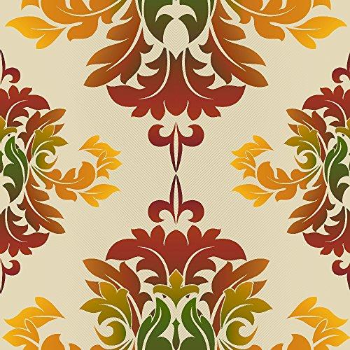 murando - Vlies Tapete - Deko Panel Fototapete - Wandtapete - Wand Deko - 10 m Tapetenrolle - Mustertapete - Wandtapete - modern design - Dekoration - Muster Ornament f-A-0130-j-c