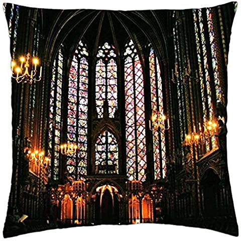 Ste chapelle Cattedrale–Throw Pillow Cover Case (45,7x