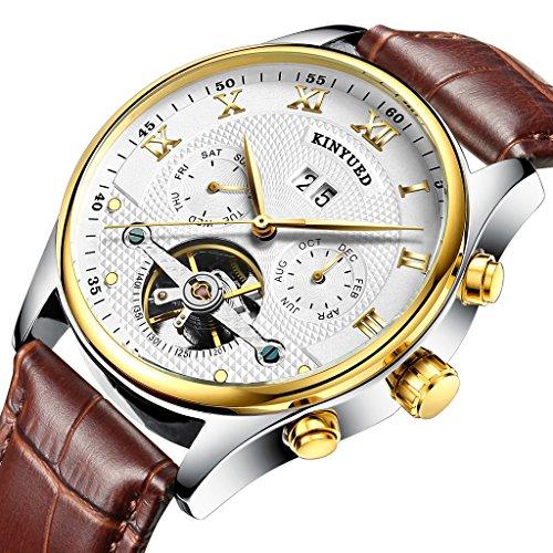 Gazechimp Multifunktion Armband Uhr Zeit Datum Chronograph Zeitlos Geschenk für Männer