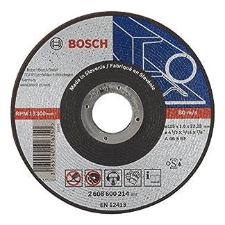 Bosch 2 608 600 214 – Disco de corte recto Expert for Metal – AS 46 S BF, 115 mm, 1,6 mm (pack de 1)