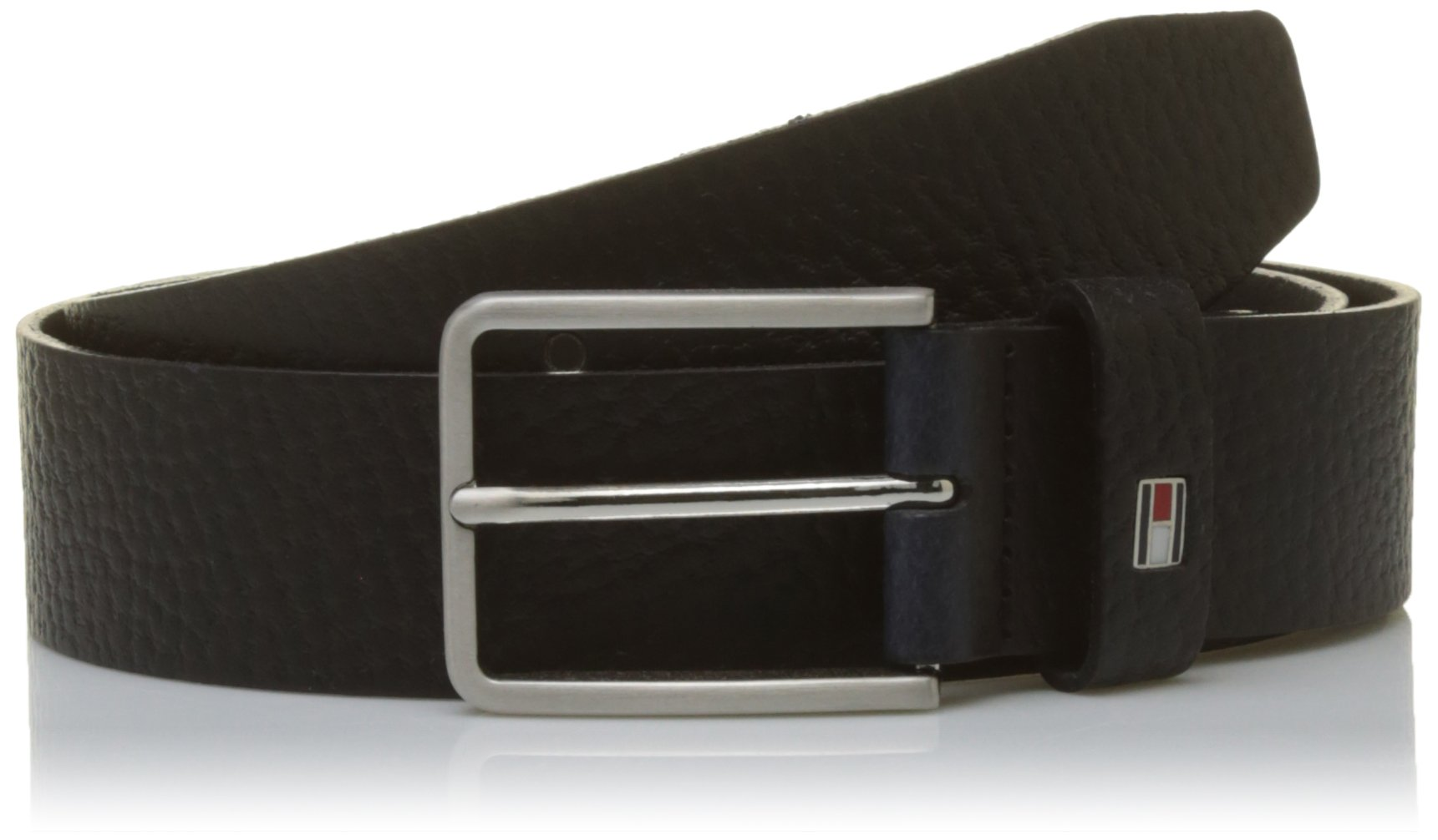 Tommy Hilfiger THD Flag Loop Belt 4.0 cm, Cinturón para Hombre