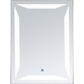 Homcom Led Badspiegel Lichtspiegel Wandspiegel Badezimmer Spiegel