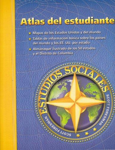 Social Studies 2003 Spanish Student Atlas Grade 3 Through 6