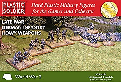 Plastic Soldier 1/72 Late War German Heavy Weapons # 020005 by Plastic Soldier Company