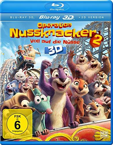 Operation Nussknacker 2 3D - Voll auf die Nüsse [3D Blu-ray]