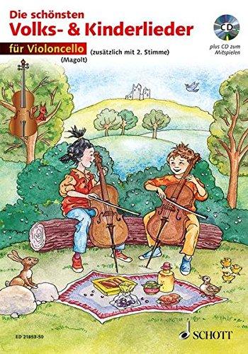 Die Schonsten Volks- Und Kinderlieder Violoncelle +CD par  Hans Magolt_marianne
