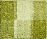 Grund Badteppich 100% Polyacryl, ultra soft, rutschfest, ÖKO-TEX-zertifiziert, 5 Jahre Garantie, FANTASIE, WC-Vorlage o.A. 50x60 cm, grün