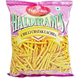 #1: Haldirams Snacks - Chilli Chatak Lachha, 200g Pouch
