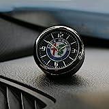 Voor Alfa Romeo Giulia Giulietta 159 156 Mito Stelvio 147 Sportiva Outlet Dashboard Auto Klok Air Clip Interieur Auto Accesso