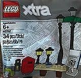 LEGO Xtra - Lampen, Laternen, Tisch, Briefkasten, Zeitungsständer - 40312