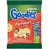 Organix Goodies organiques Alphabet Biscuits 12mth + (25g) -