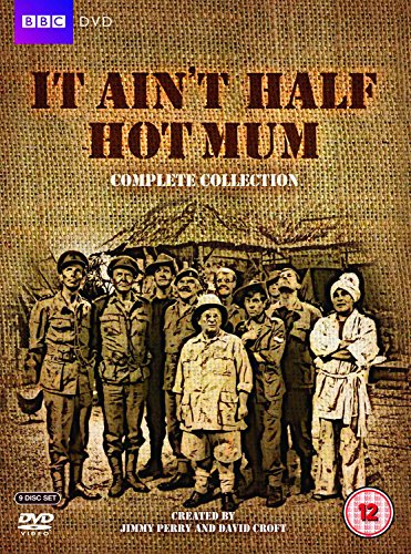 It Ain't Half Hot Mum - Complete Collection DVD - 9 disc set. The classic 70s comedy with Windsor Davies amd Melvyn Hayes