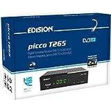 Edision PICCO T265, Full High Definition DVB-T2, H265 HEVC 10 Bit ricevitore digitale terrestre, WiFi Supporto…