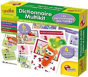 Lisciani-Juegos Educatifs-fr61068-Carotina Diccionario Multikit los Personajes Des fables