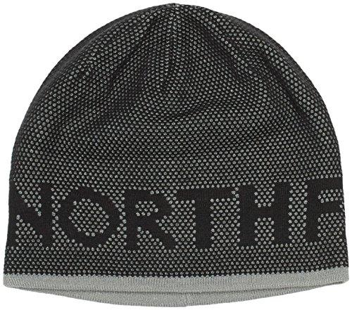 The North Face Ticker Tape Beanie - Gorro  unisex, color negro / gris, talla OS