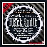 Black Smith 11-52 Coated Jeu de cordes pour Guitare acoustique
