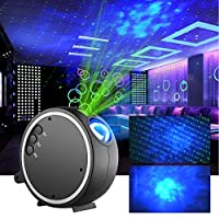 LED Projector Lights Stars Projector Lamp Dynamic Lamp Romantic Night Light Sleep Soothing Color Changing Lamp for Stage Bedroom Wedding Party Christmas