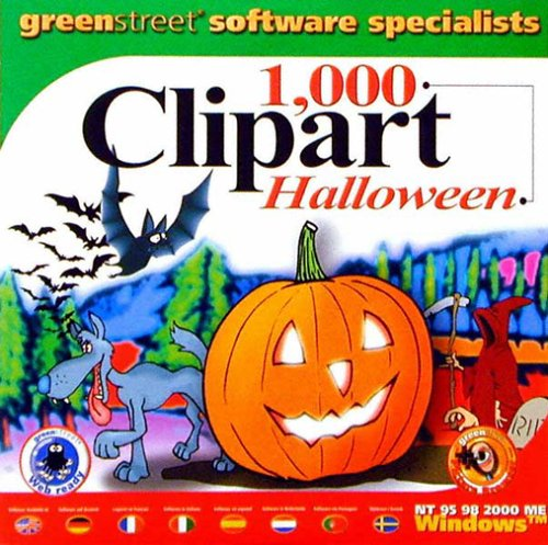 1000 Clipart Halloween [Import]