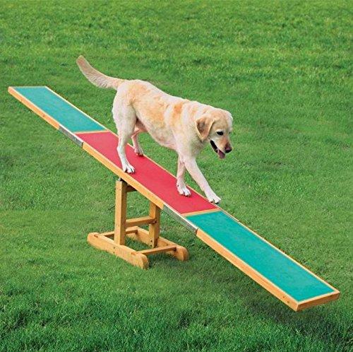 Kiefer Holz Aktivität Agility Wippe–Ideal für Ihren Hund mit eine vielfältige Fitness Programm, während Sie bauen auf Ihren Beziehung zusammen