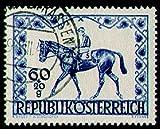 Briefmarken Österreich Nr. 811 gestempelt Pferderennen 1947