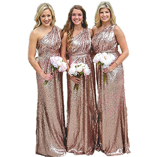 CoCogirls - Robe - Taille empire - Femme Rose Gold