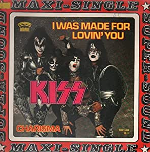 """KISS - I WAS MADE FOR LOVIN YOU - 7"""" VINYL"""