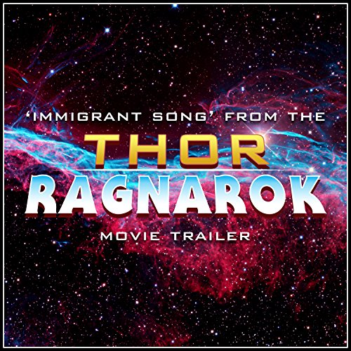 Immigrant Song From The Thor Ragnarok Buy Online In Israel At Desertcart