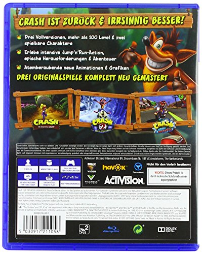 Crash Bandicoot N.Sane Trilogy – [PlayStation 4] - 2