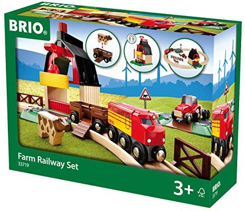 *BRIO World 33719 – Bahn Bauernhof Set*