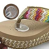 TININNA 5 Paar Silikon weiche Flip Gel Kissen für Sandale Flip-Flop mit Gel Zehenschutz Kissen Thong Protektoren Transparente Tanga Sandale Zehenschutz-Silipos