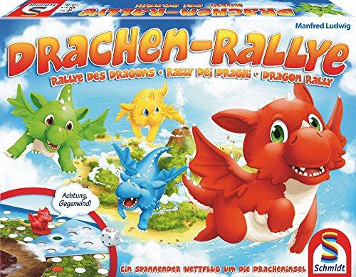 Preisvergleich Produktbild Schmidt Spiele 40545 - Drachen-Rallye