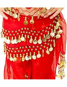 Per bambini per danza del ventre cintura per bambine Belly Dancing Outfit Costume