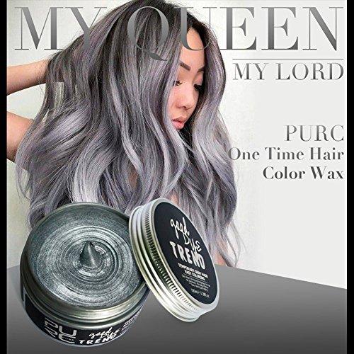 Petansy Unisex Einweg Haar Creme Stereotypen Haar Wachs Haarfärbemittel Wachs 7 Farben Haar-styling-wax-stick
