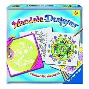 Ravensburger 29957  - Los sueños románticos Mandala Designer importado de Alemania