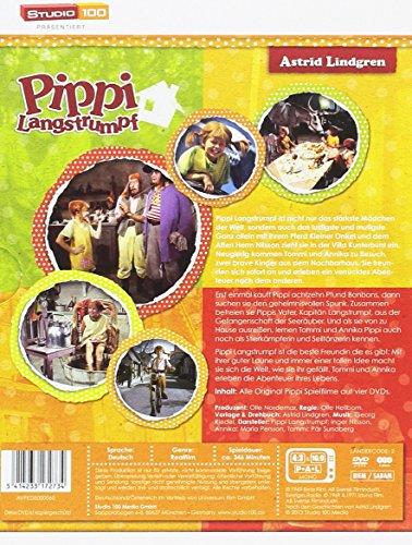 Astrid Lindgren: Pippi Langstrumpf - Spielfilm-Komplettbox [4 DVDs]: Alle Infos bei Amazon